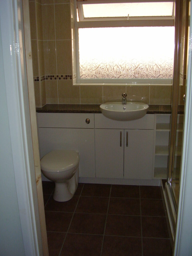 Sink and Toilet Refit