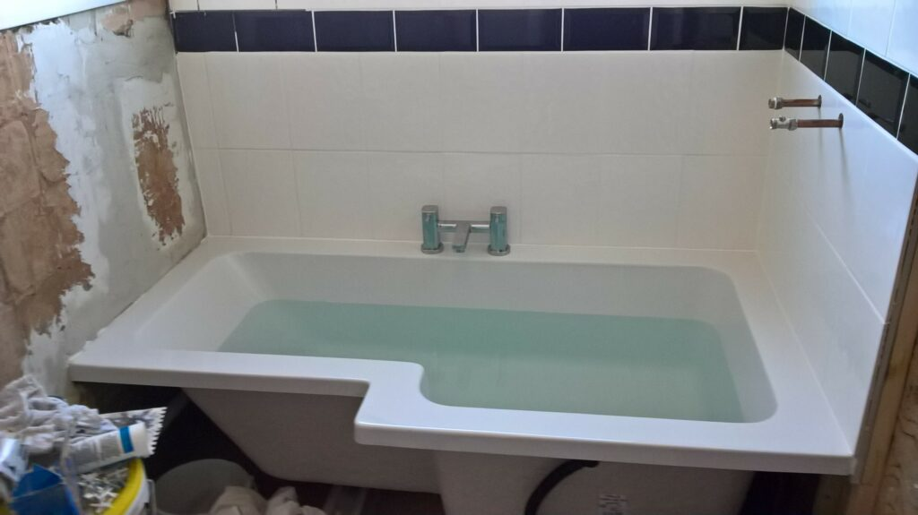 Bathroom Refit Nearly There